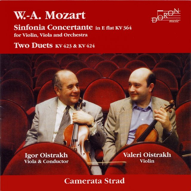 Mozart: Sinfonia concertante & Two Duets