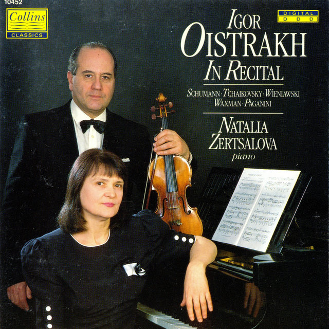 Igor Oistrakh in Recital
