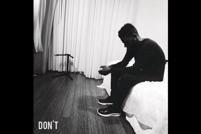 Don't (Audio)