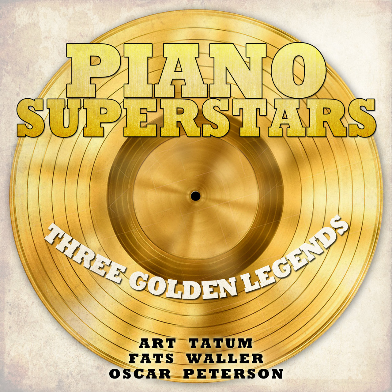 Piano Superstars, Three Golden Legends - Art Tatum, Fats Waller, Oscar Peterson