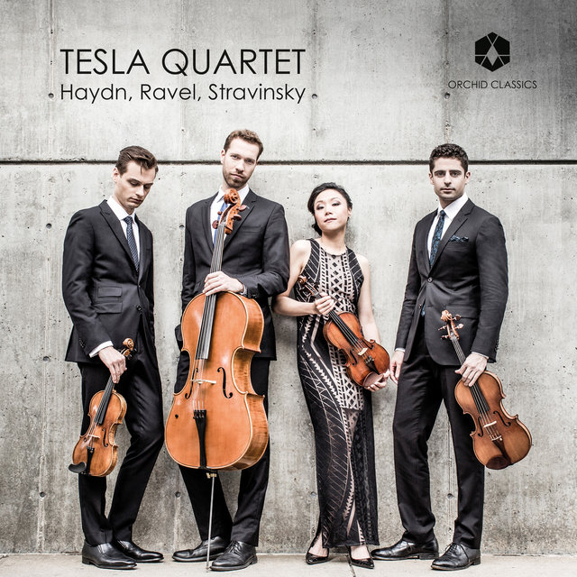 Haydn, Ravel & Stravinsky: Works for String Quartet