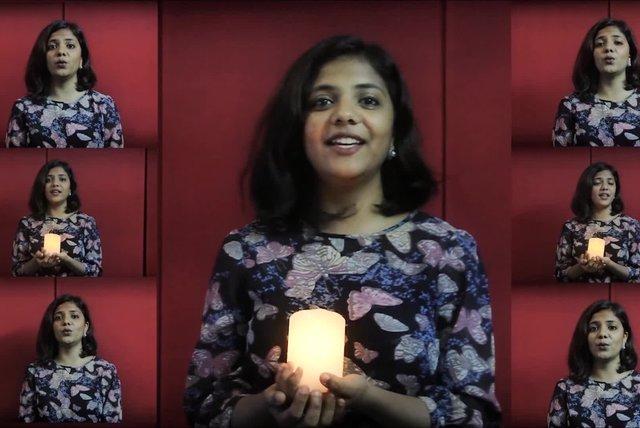 Shobi Ashika - Silent Night - A Cappella - (Official Video) - Life Media -  Christmas Songs
