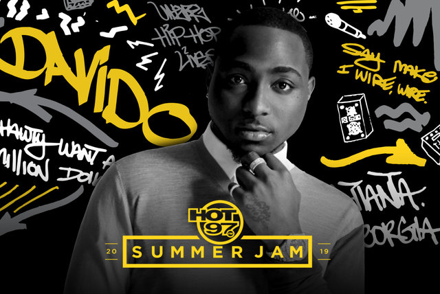 Live at TIDAL X Hot 97 Summer Jam 2019 by DaVido on TIDAL