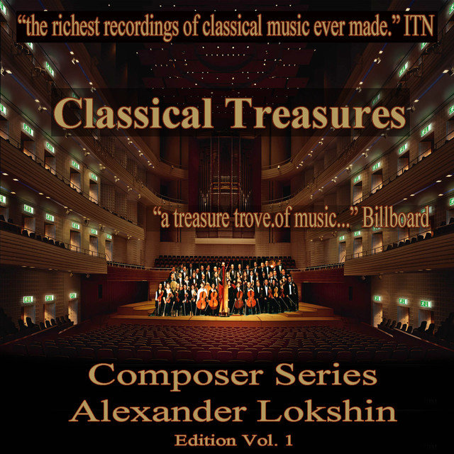 Classical Treasures Composer Series: Alexander Lokshin Edition, Vol. 1