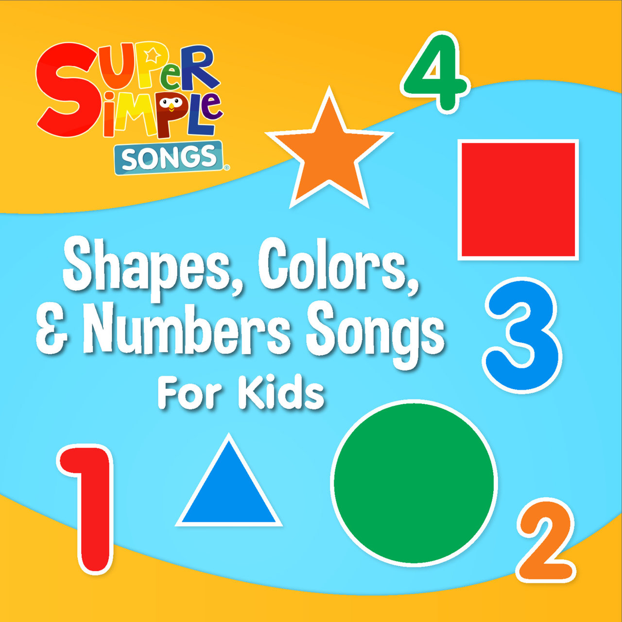 tidal: listen to shapes, colours & numbers songs on tidal