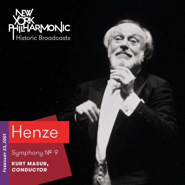 Henze: Symphony No. 9 (Recorded 2001)