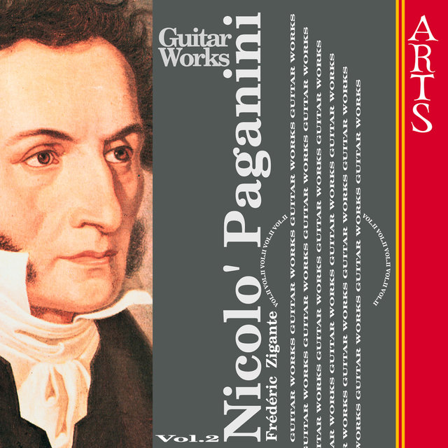 Paganini: Guitar Music Vol. 2