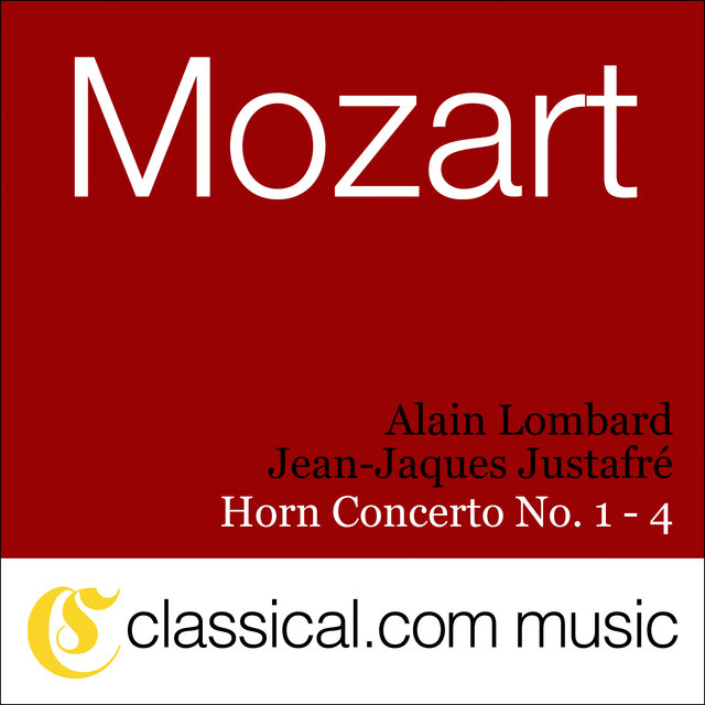 Wolfgang Amadeus Mozart, Horn Concerto No. 1 In D, K. 412