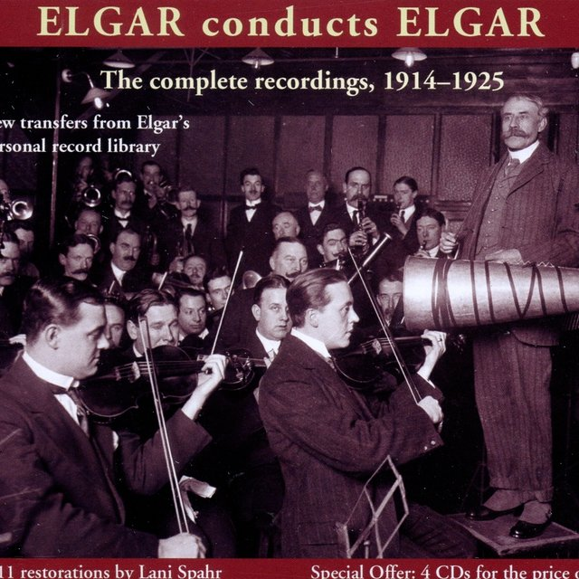 Elgar Conducts Elgar (1914-1925)