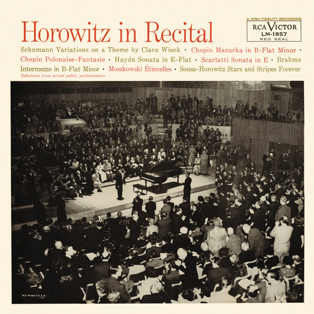 Horowitz in Recital