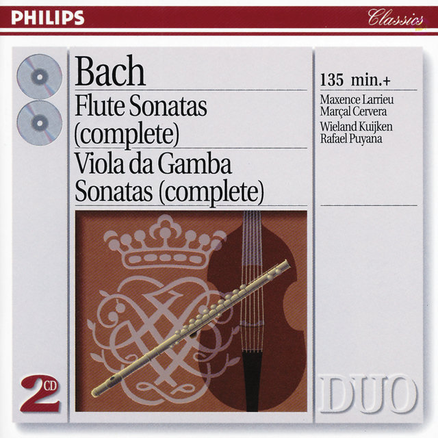 Bach, J.S.: The Flute Sonatas/The Viola da Gamba Sonatas