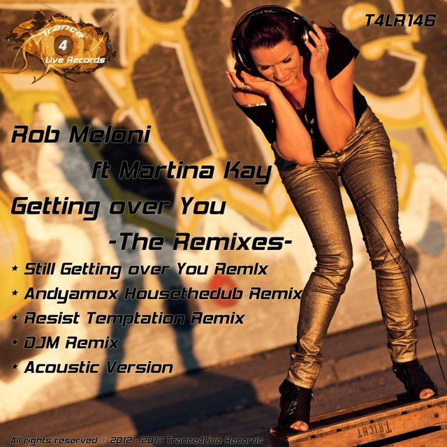 Getting Over You - The Remixes -