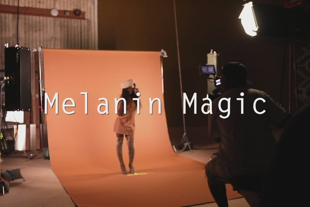 Melanin Magic (Pretty Brown) - Behind the Scenes