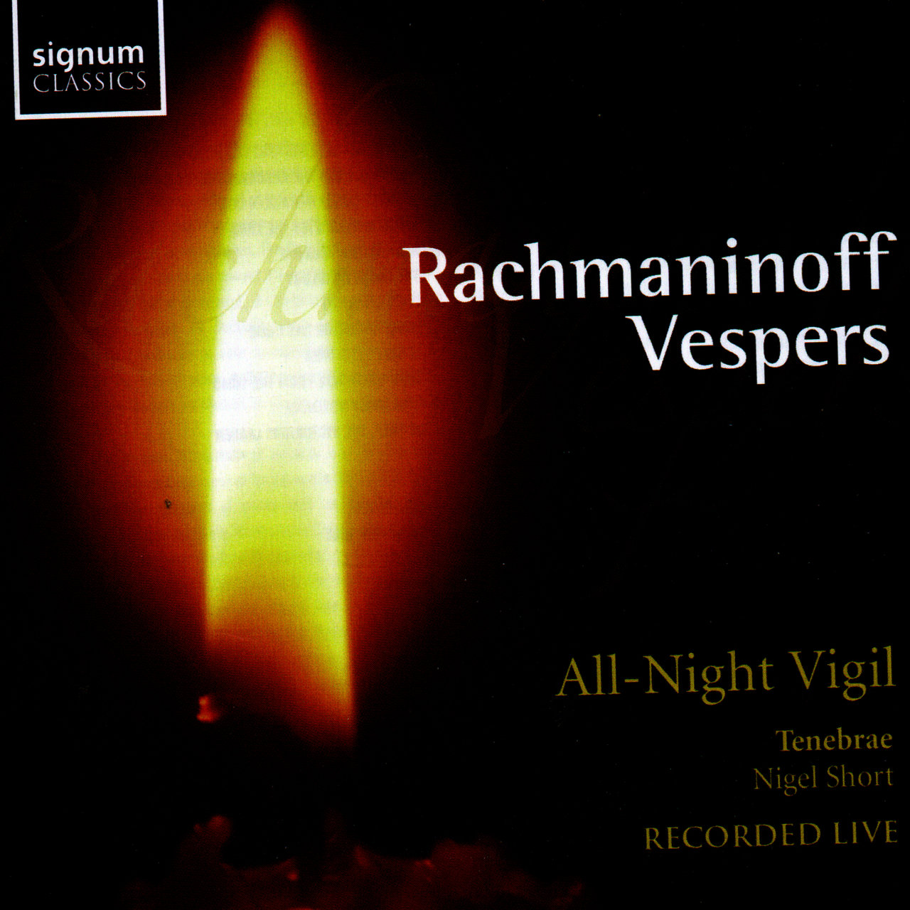 Rachmaninoff Vespers: All Night Vigil