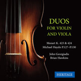 Duo in G Major, K. 423: II. Adagio