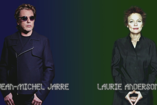Jean-Michel Jarre with Laurie Anderson Track Story