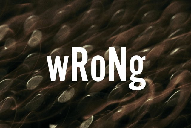 wRoNg (Lyric Video)