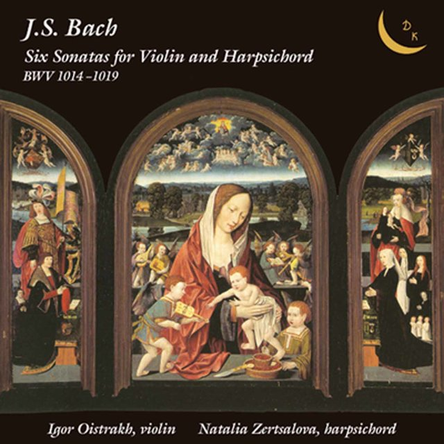 Bach: 6 Sonatas for Violin & Harpsichord, BWV 1014-1019