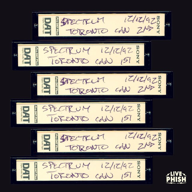 PHISH: 12/12/92 The Spectrum, Toronto, ON (Live)