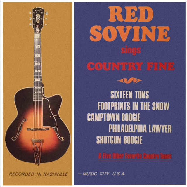 Red Sovine Sings Country Fine (Remastered from the Original Somerset Tapes)