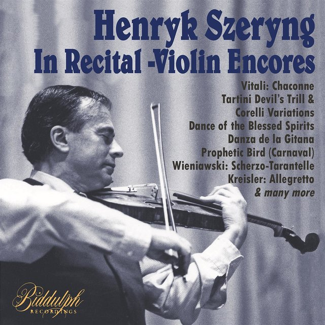 Szeryng in Recital – Violin Encores