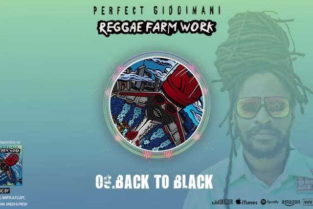 PERFECT GIDDIMANI - BACK TO BLACK - IRIE ITES RECORDS