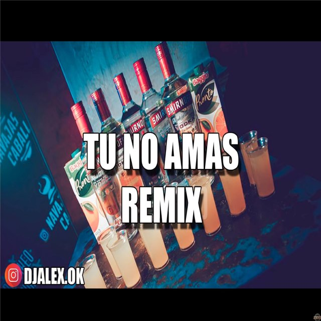 Tu No Amas Remix