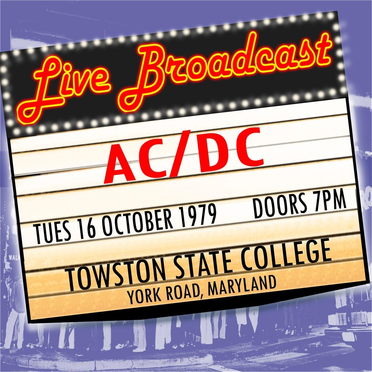 Live Broadcast 16th October 1979 Towston State College