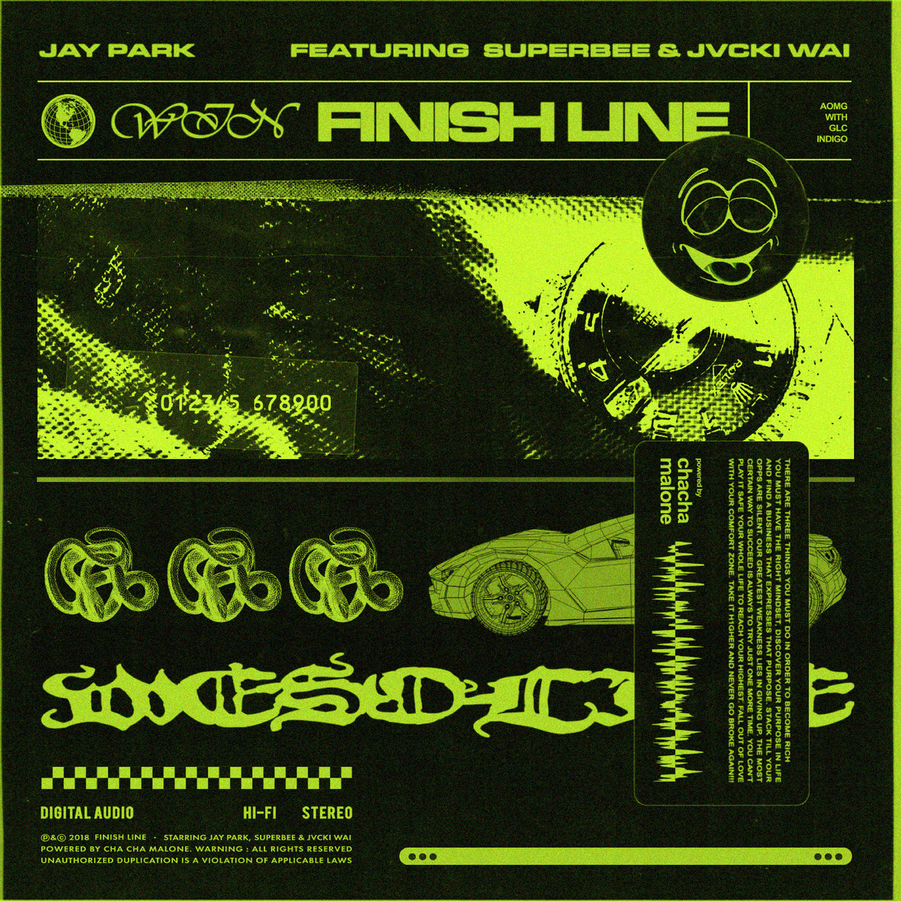 Finish Line (feat. SUPERBEE & Jvcki Wai)