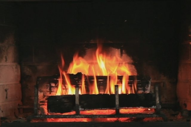 Some Children See Him (Yule Log Video)