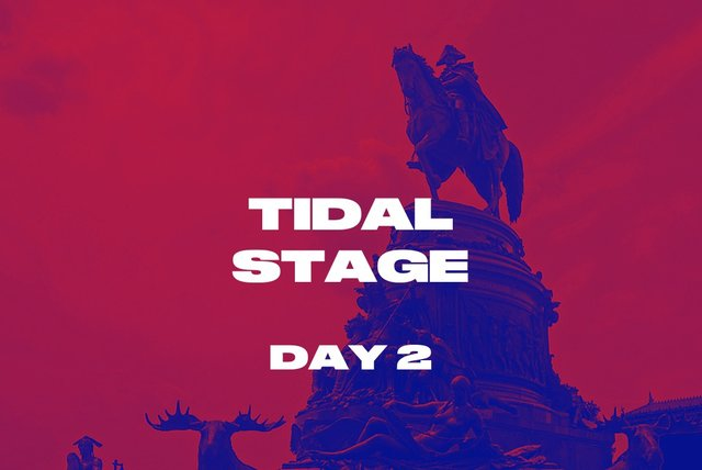 TIDAL Stage Day 2