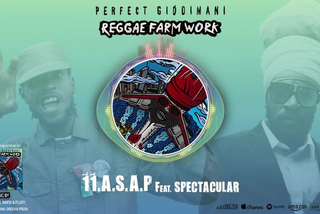 PERFECT GIDDIMANI Ft. SPECTACULAR - A.S.A.P. - IRIE ITES RECORDS