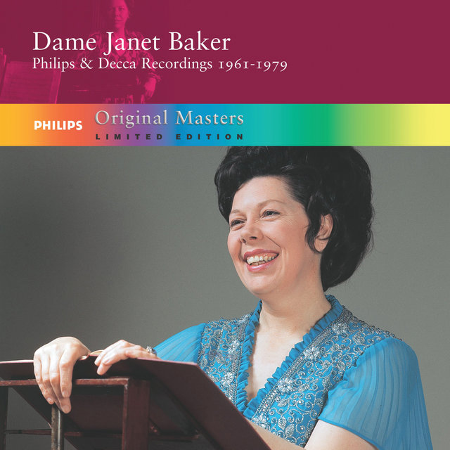 Dame Janet Baker: Philips And Decca Recordings 1961-1979