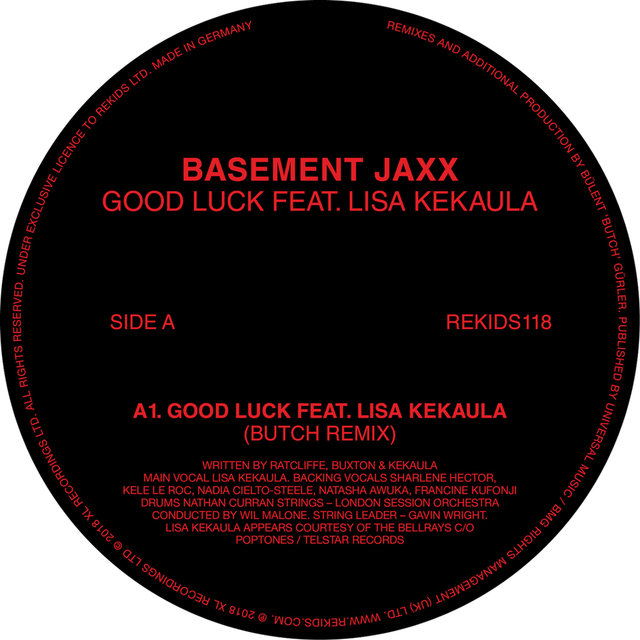 Good Luck feat. Lisa Kekaula (Butch Remixes)