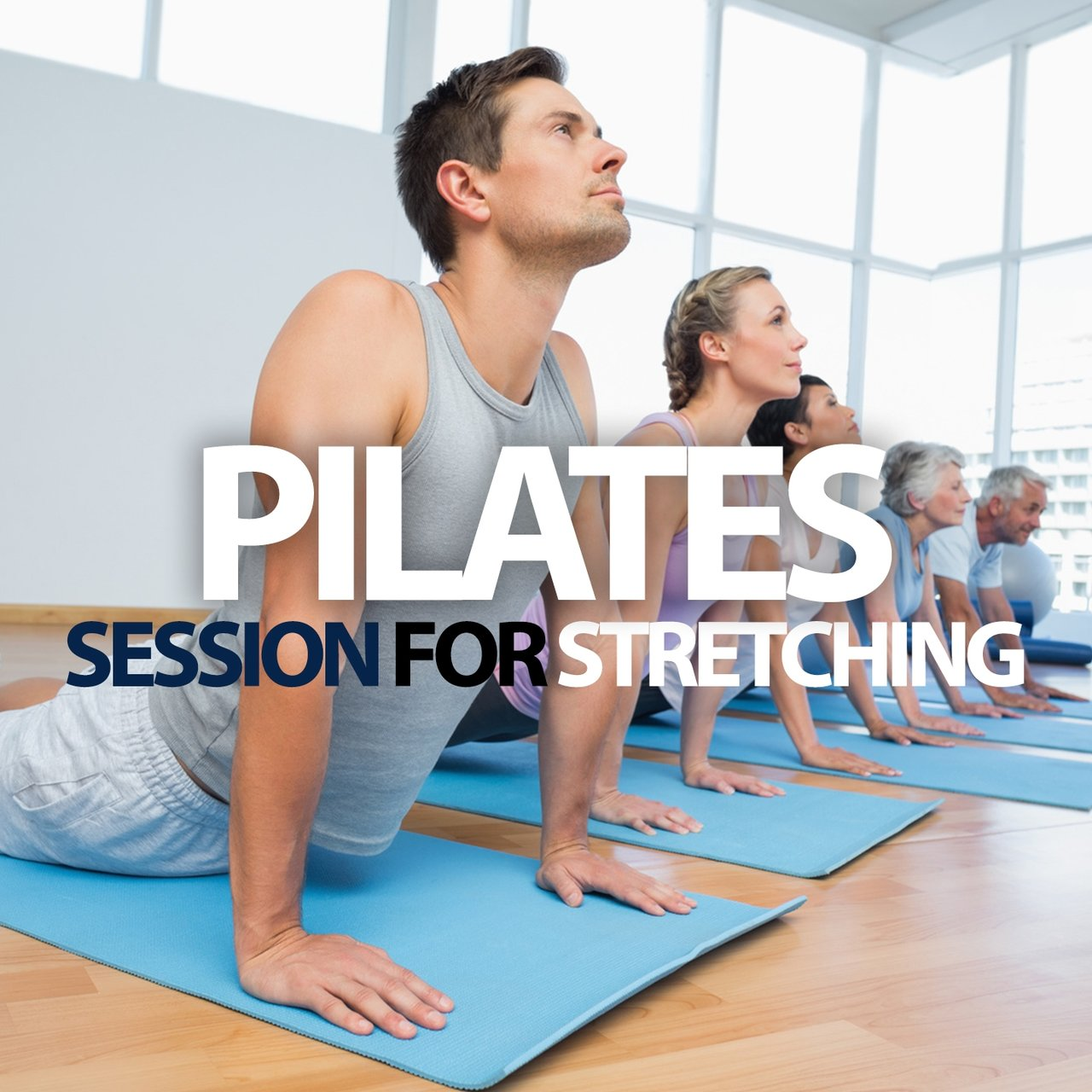 Pilates Session For Stretching