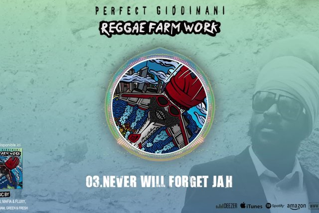 PERFECT GIDDIMANI - NEVER FORGET JAH - IRIE ITES RECORDS