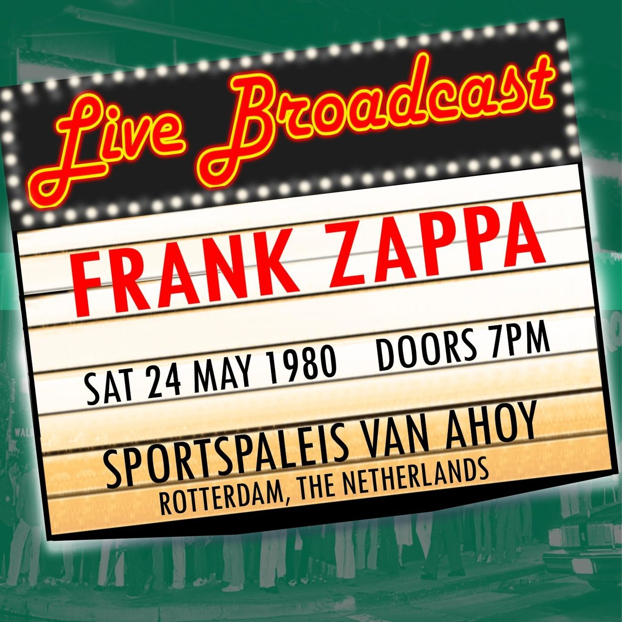 Live Broadcast 24th May 1980 Sportpaleis Van Ahoy