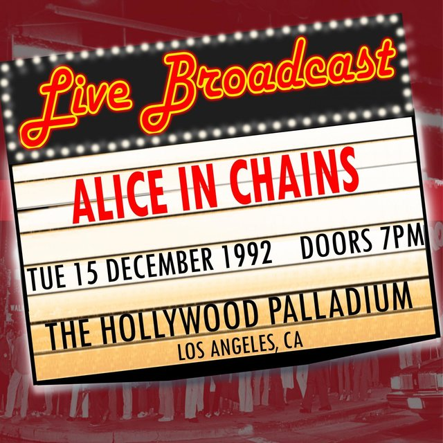 Live Broadcast - 15th December 1992  The Hollywood Palladium