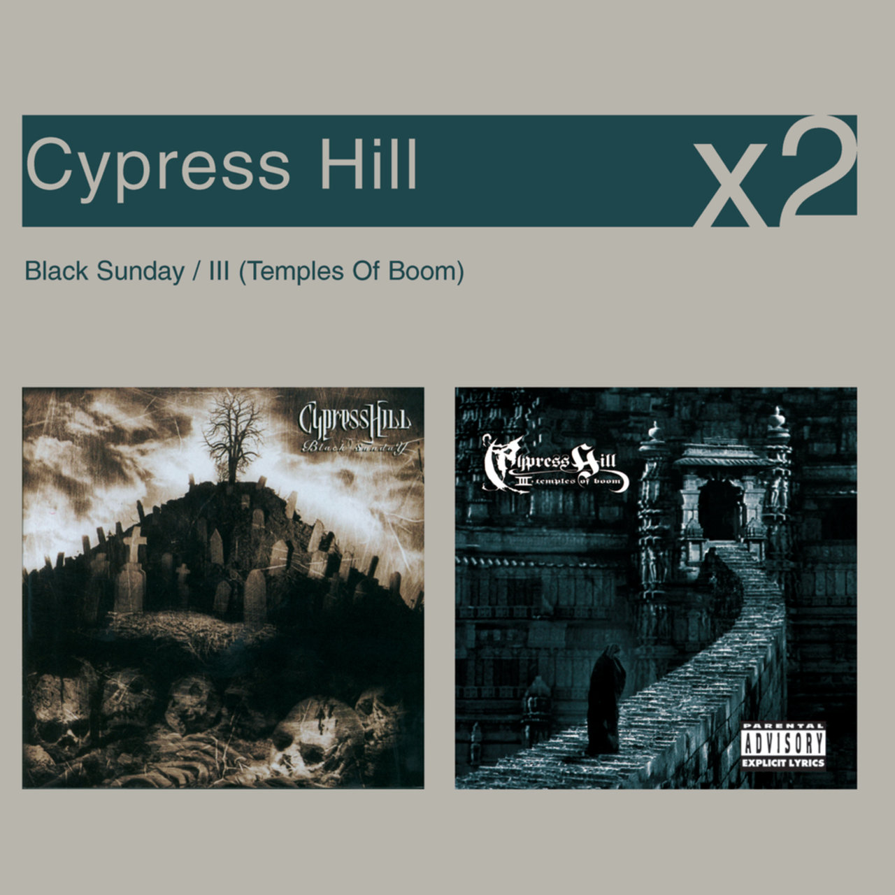 Black Sunday / III Temples Of Boom