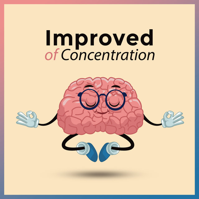 Improved of Concentration: Music Helpful in Learning, Studying, Work requiring Full Concentration and Focus