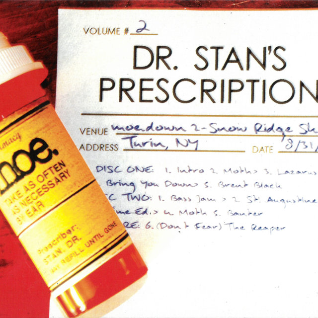 Dr. Stan's Prescription Vol. 2 (Live)