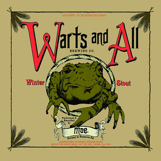 Warts and All, Vol. 1 (Live)
