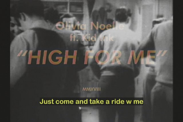 High for Me (Lyric Video)