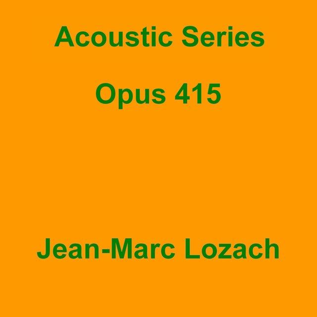 Acoustic Series Opus 415