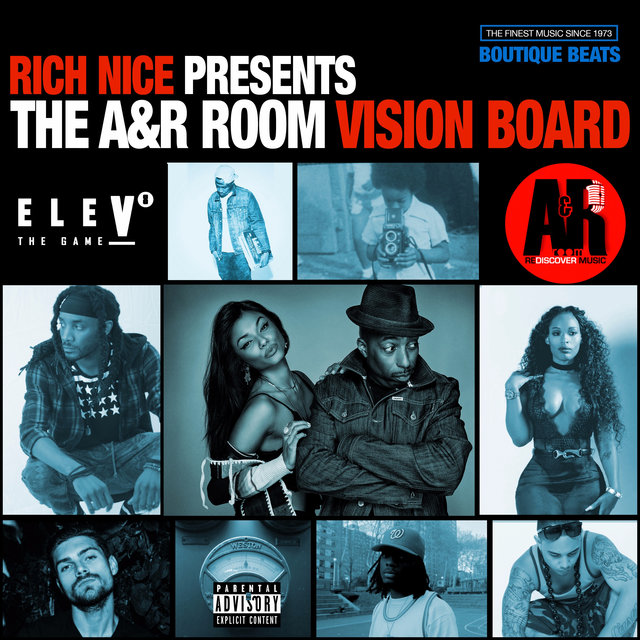 Rich Nice Presents: The A&R Room Vision Board