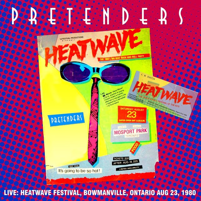 At The Heatwave Festival, Bowmanville, Ontario 23 Aug '80