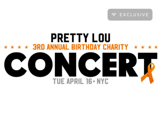 Pretty Lou's Birthday Charity Concert