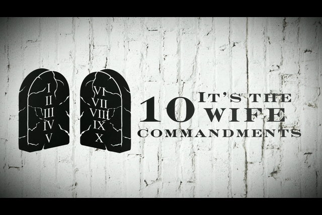 Ten Wife Commandments (Lyric Video)