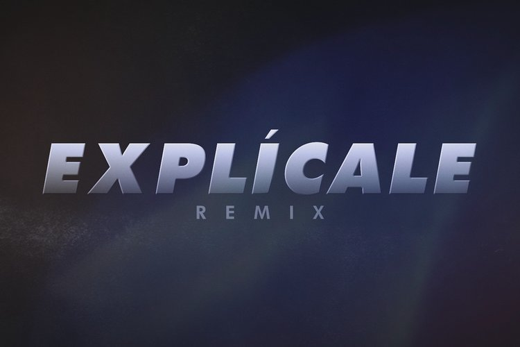 Explícale (Remix - Official Lyric Video)