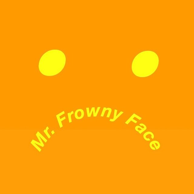 Mr. Frowny Face